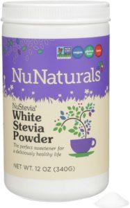 nunaturals white stevia