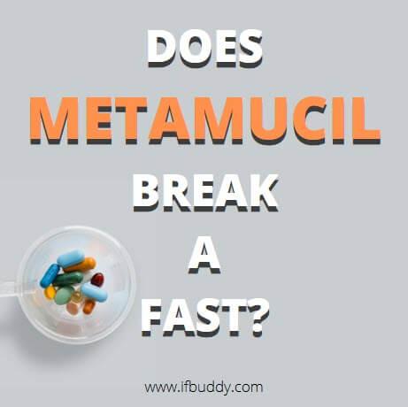 does metamucil break a fast