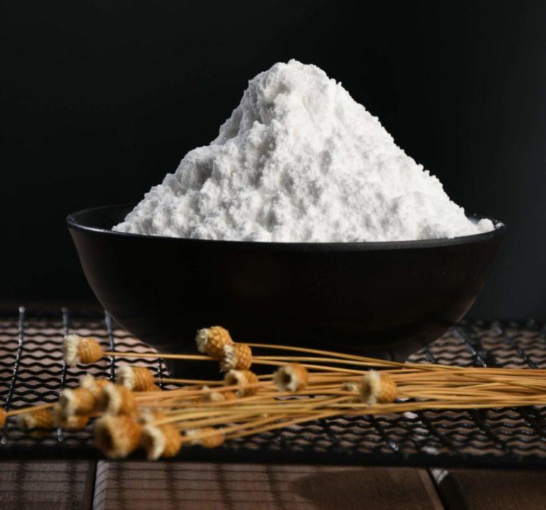 powder of erythritol