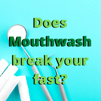 Moutwash and Intermittent Fasting: Does Mouthwash break your fast?