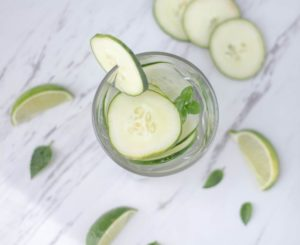 cucumber water